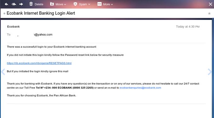 How I Hacked EcoBank Online Banking Scam Database - Akinyele